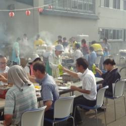 旭光園 夏祭り